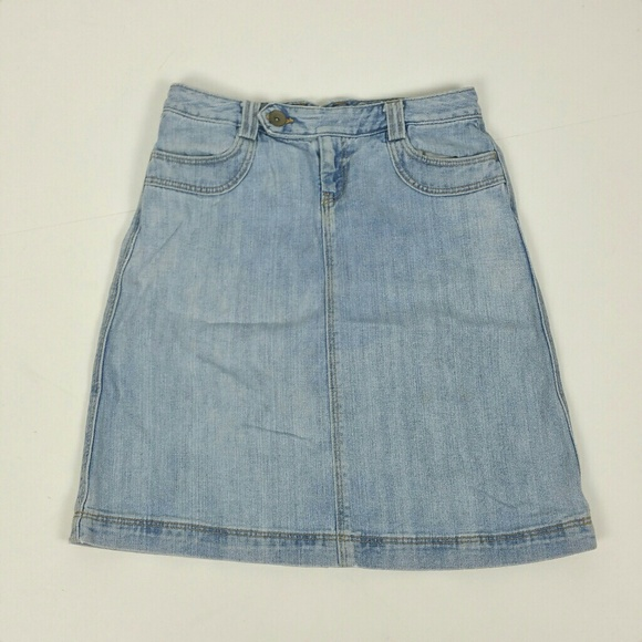 3567ab79d9 GAP Skirts | Denim Light Wash Aline Denin Skirt | Poshmark